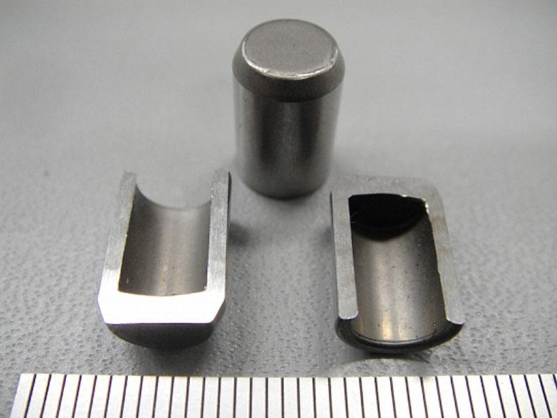 S45C 深孔部品(外径テーパー有り)